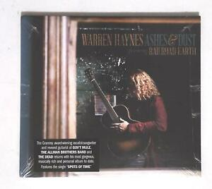 Warren-Haynes-Featuring-Railroad-Earth-Ashes-amp-Dust-CRE-37469-02-US-CD-SEALED