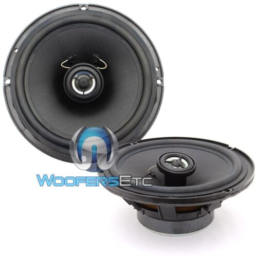 "PAIR FOCAL 6.5/"" CAR OEM REPLACEMENT 2-WAY BUILT IN TWEETERS COAXIAL SPEAKERS NEW"