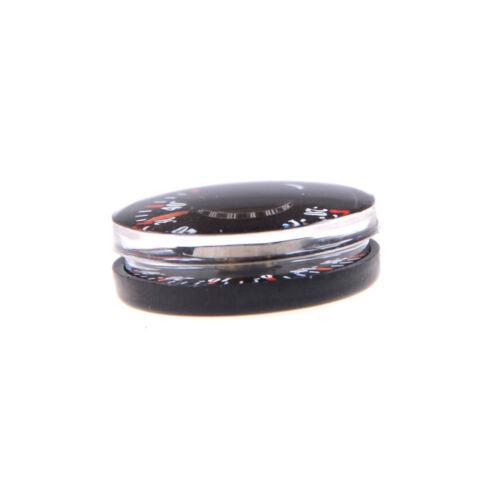 2pcs diamètre 20mm rond mini thermomètre Celsius Hydrothermograph IU