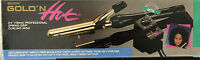 Belson Gold 'n Hot 3/4 Professional Spring-grip Curling Iron-24k Gold Plated