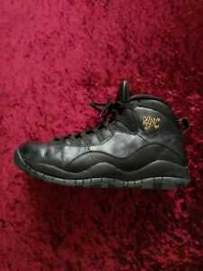 Nike X Uk Black Eu Air 46 Rara Taglia 10 11 Us York New 'nyc' Jordan 12 tdUqwvwx41