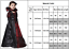 Girls Kid Vampire Costume Cosplay Long Halloween Gothic Fancy Dress Party Outfit