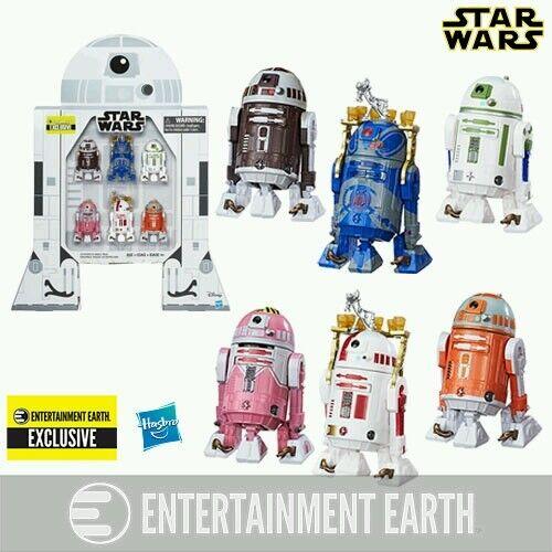Star Wars Astromech Droids figuras de 3 3 4 pulgadas-conjunto EE exclusivo 6-pk