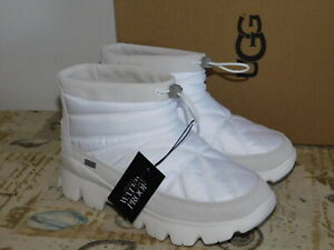 82595f400f5 NEW WOMENS SIZE 5 WHITE UGG CENTARA 1095430 WATERPROOF WINTER SNOW ...