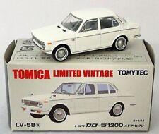 TOMICA LIMITED VINTAGE LV-55b 1//64 TOYOTA COROLLA 1100 2DOOR SEDAN Red