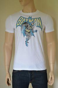 840e2c546e NEW Abercrombie   Fitch Vintage Batman Tee White Superhero T-Shirt ...