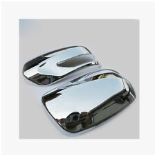 Chrome Side Rearview Mirror Cover Trim For Subaru Forester 2009 2010 2011 2012