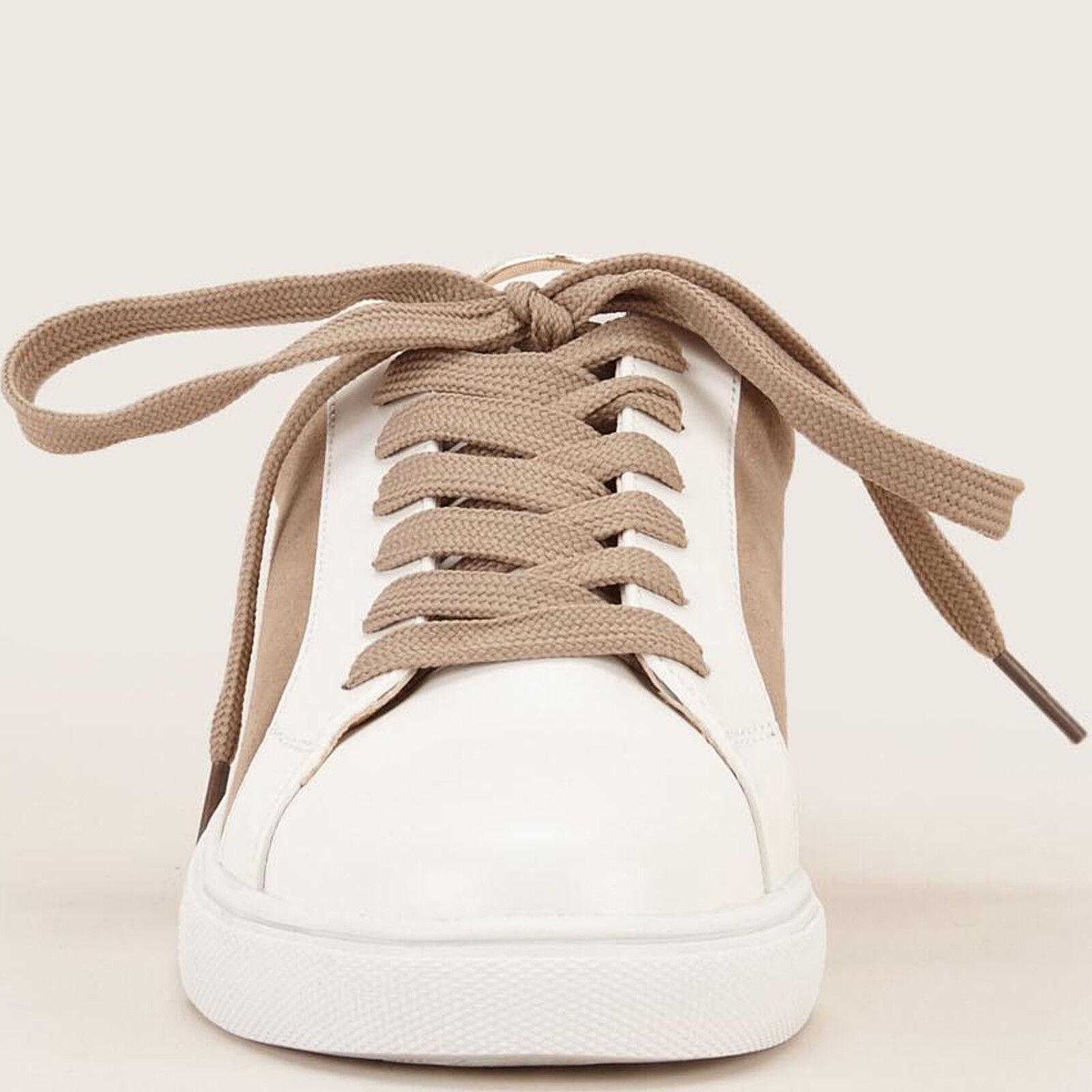 French Designer Vanessa Wu Damens Sneakers Flat Trainer Niedrig-Cut Schuhes UK 3 EU 36