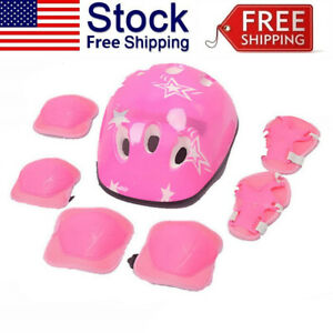 Kids-Children-Bike-Knee-Pads-and-Elbow-Pads-with-Wrist-Guards-Protective-Gear-QK