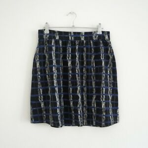 HOF115-amp-Other-Stories-Rock-mini-muster-Psychedelic-print-skirt-36-UK-10