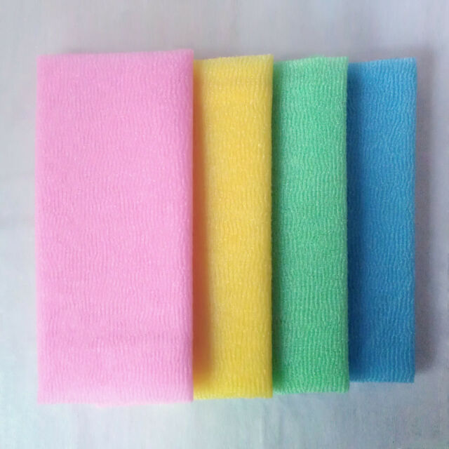 Japanese Exfoliating Microdermabrasion Facial Bath Wash Cloth Towel - CHOOSE QTY