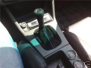 FITS BMW E30 E36 E34 E39 E46 Z3 SUEDE BOOTS  RED STITCH NEW