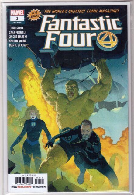 FANTASTIC FOUR #1 Legacy #646 Esad Ribic Cover Marvel Comic Unread NM Near Mint