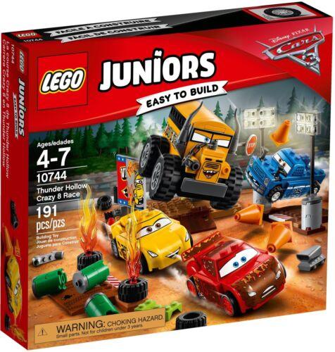 10744 Crazy 8 Rennen in Thunder Hollow Neu /& OVP LEGO Juniors Crazy 8 Race