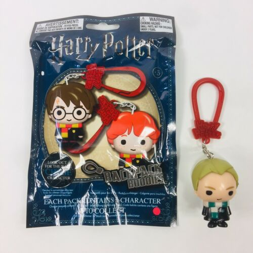 Harry Potter Paladone Backpack Buddies Vinyl Draco Malfoy Figure Keychain Charm