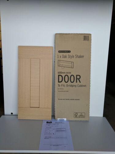 IT KITCHENS OAK STYLE SHAKER 600 X 278mm HOB BRIDGEING Oven Housing Door Pack D
