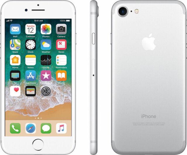 """Apple iPhone 7 32 Go (Désimlocké) 4G LTE SIM Free Téléphone 4,7"""" Argenté"""