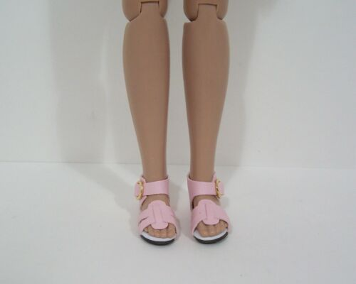 "LT PINK Strappy Sandals Doll Shoes For Robert Tonner 12/"" Marley Wentworth Debs"