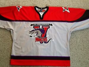 d016bad9ebe Image is loading AUTHENTIC-LOWELL-LOCK-MONSTERS-HOCKEY-JERSEY-PRO-58