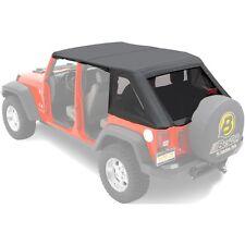 56805-35 Bestop Trektop Complete Soft Top Kit Black for Jeep Wrangler 2007-2017