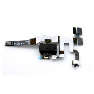 Connecteur-Audio-Jack-Touche-Volume-Cable-Flat-Flex-Casque-pour-IPHONE-4S-Noir