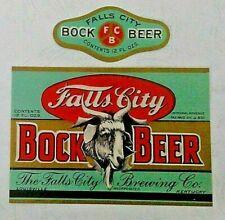 IRTP Falls City Bock, Falls City Brewing Co., Louisville, KY 12 oz U Permit#