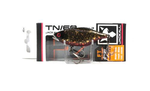 Jackall TN 60 Full Tungsten Vibration Lure Wabisabi Gold Black 5986