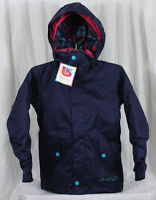 2014 Girls Burton Moxie Insulated Snowboard Jacket Medium Hesher