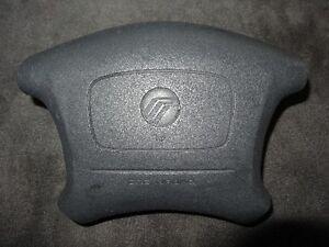 99-02 Mercury Villager Steering Wheel Air Bag Black
