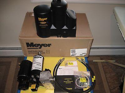 meyer e 58h snow plow pump kit new 15995 unit hoses fittings meyer e 58h snow plow pump kit new 15995 unit hoses fittings cover