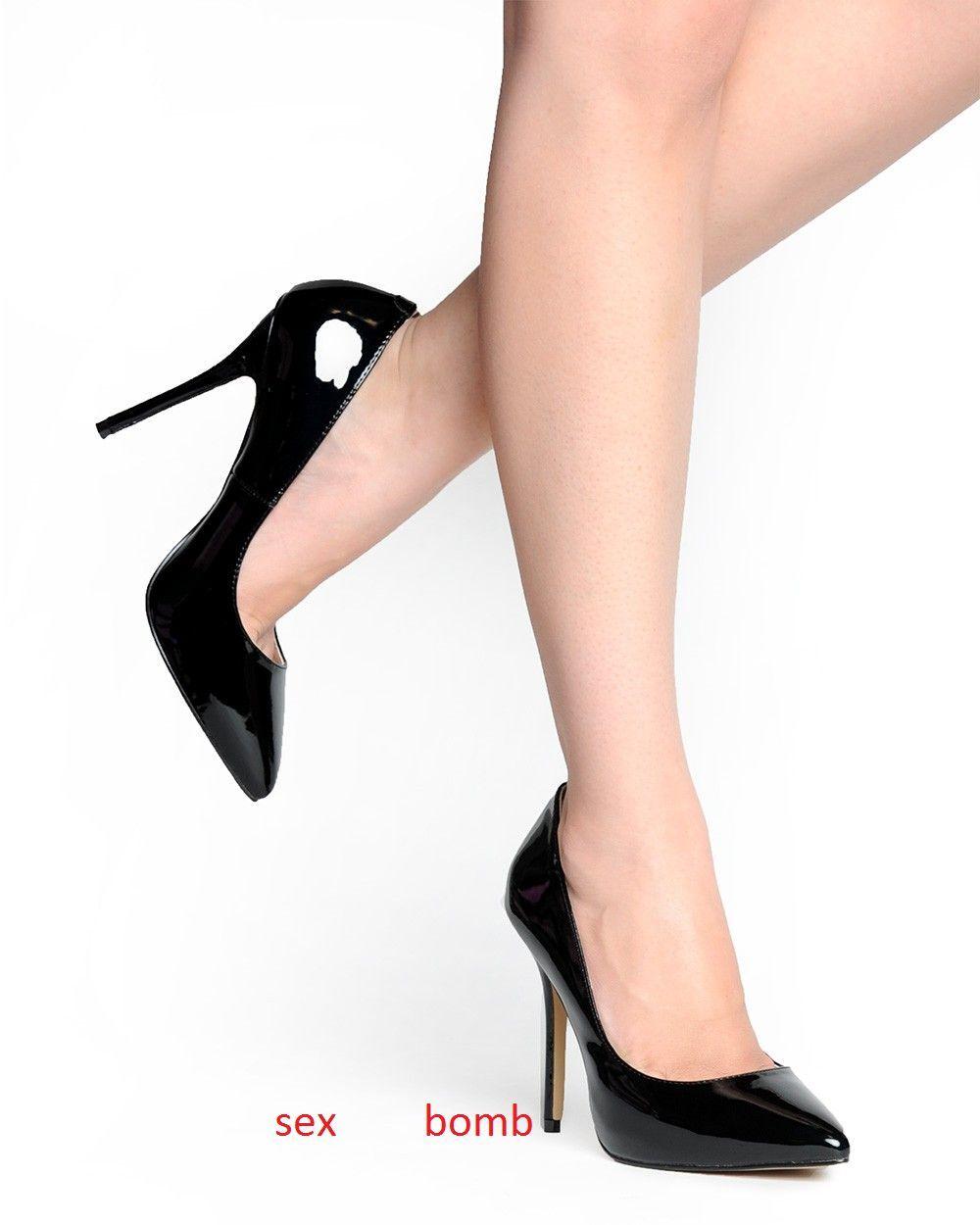 SEXY decolte tacco 13 dal dal dal 35 al 44 Grün NEON mini plateau nascosto fashion fc520b