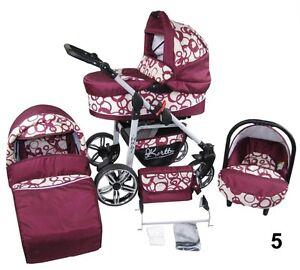 Image Is Loading Baby Kirtu Hubby Passeggino Combi 3in1 Passeggino Ovetto