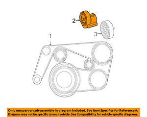 image is loading mercedes-mercedes-benz-oem-c230-serpentine-drive-fan-