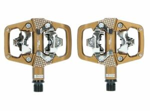 NEW-2020-LOOK-X-TRACK-EN-RAGE-PLUS-MTB-Bike-Pedals-SPD-Compatible-Cleat-BRONZE
