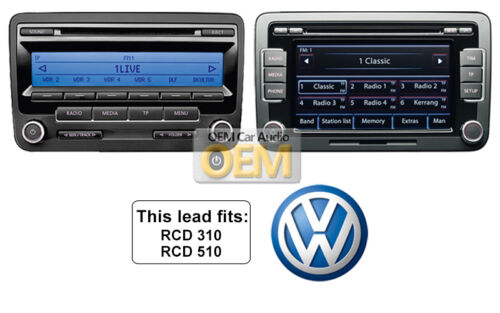 VW MDI Cable USB adaptador de interfaz de medios de comunicación en VW RNS 315 DAB USB Plomo