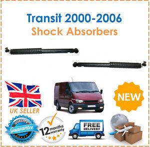 Para-Ford-Transit-Bus-y-Caja-2000-2006-Dos-Traseros-Gasolina-Amortiguadores-Set