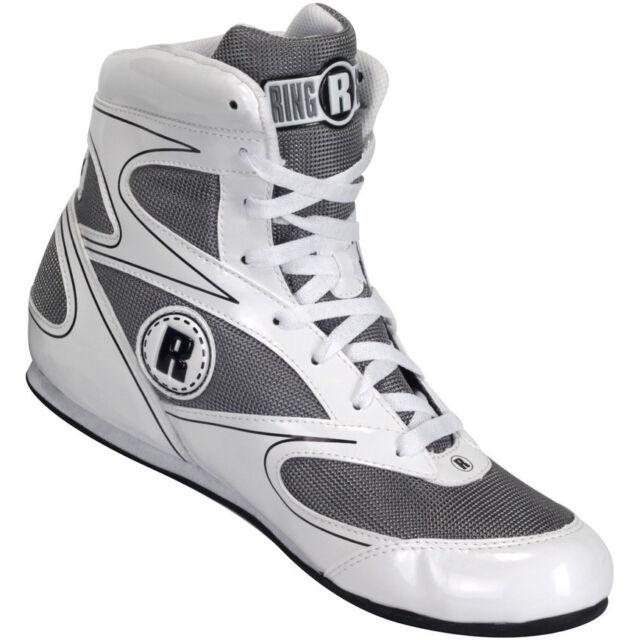 Ringside Lo-Top Diablo Boxing Shoes White