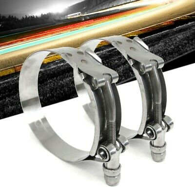 Effective Size 1.73-2 44mm-51mm HPS SSTC-44-51 Stainless Steel T-Bolt Hose Clamp SAE 28 1 Piece
