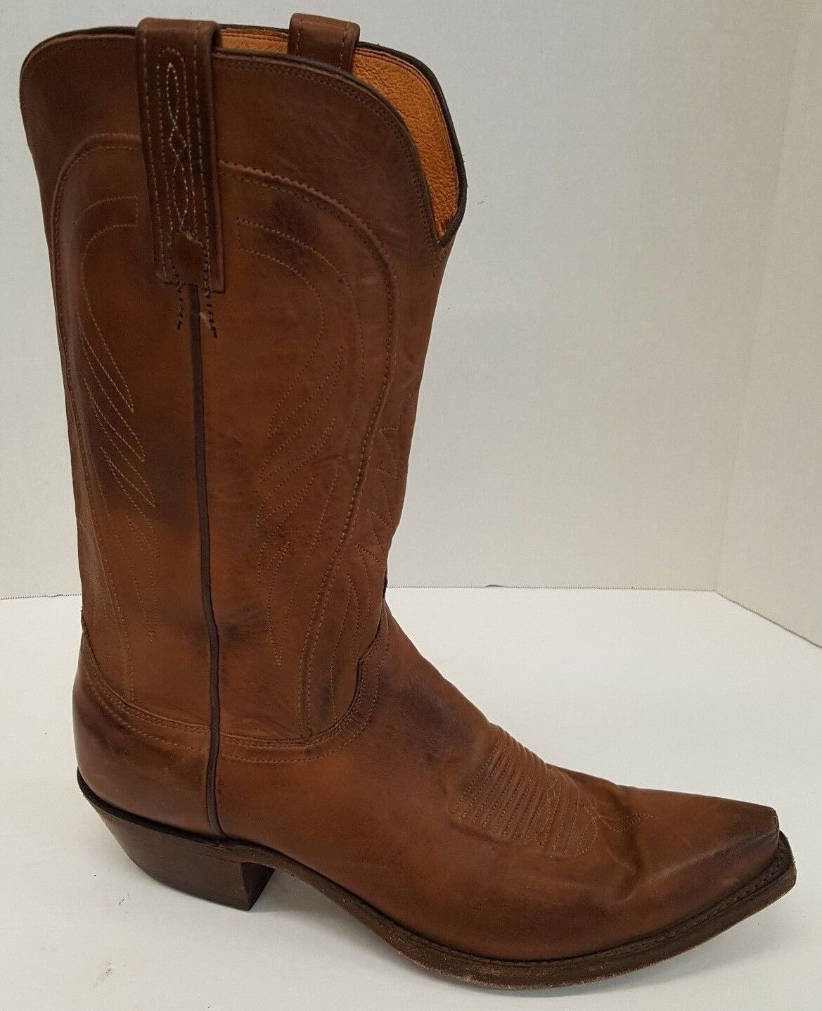 1 pie derecho sólo Lucchese 1883 Bart Sz 9 botas amputado D Ranch