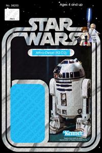 Lego Carte de Retour 38200 Custom star wars vintage 12-Arrière Garde-Detoo R2-D2