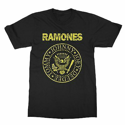 Ramones band presidential distressed seal premium t-shirt S-4X