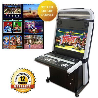 32 Multi Game Vewlix Arcade Cabinet 2 Player Sanwa Games Console Brand New Ebay