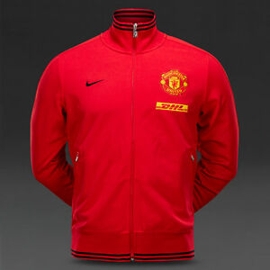 d00f562cea6 Manchester United Red Track Jacket by Nike Authentic New With Tags ...