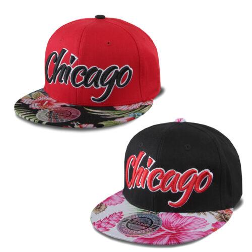 "CITYHUNTER SNAPBACK CAP /"" HAWAIIAN FLOWER /"" 2TONE FLEX NEW FIT TRUCKER KAPPE"
