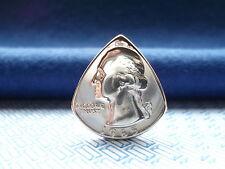 Genuine U S Quarter Dollar Coin PICK. Elettrico/Chitarra acustica. con W GRATIS.