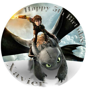 How-to-Train-Your-Dragon-Personalised-Edible-Image-REAL-Icing-Large-Cake-Topper