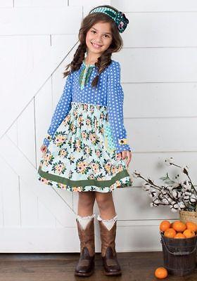 NWT Matilda Jane Joanna Gaines Once Upon A Time Down On The Farm Dress Medium M