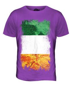 aad75e24 Details about IRELAND GRUNGE FLAG MENS T-SHIRT TEE TOP ?IRE FOOTBALL IRISH  GIFT SHIRT