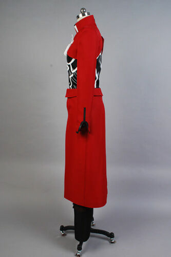 Fate//Stay Night Unlimited Blade Works Red Emiya Archer COSplay Suit Costume