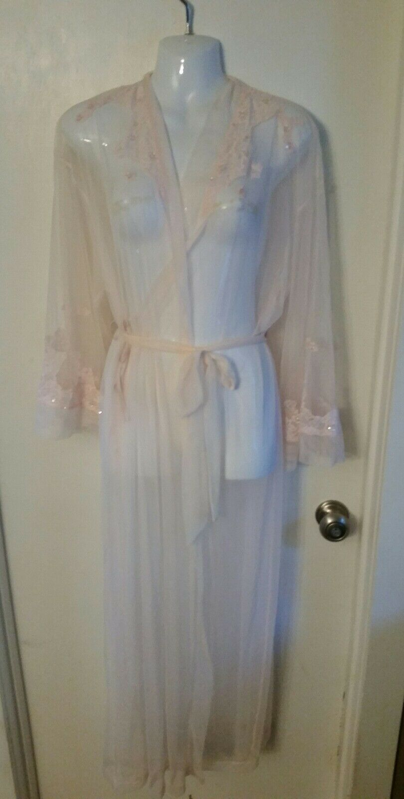New Victoria's Secret Dream Angels Embroidered Lace Gown Boho Small XS S